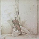 En Avant | zeefdruk, 15 drukgangen | 70 x 70 cm.