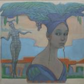 Life is a carnaval 3 | olieverf op linnen | 110x100 cm