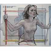 Op Stelten 2 | olieverf op linnen | 100 x 110 cm.