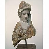 Mon Amour 2 | limestone | h. 50 cm, inclusief sokkel 117 cm