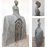 Roots 3 | keramiek | h. 60, b. 35, d. 15 cm.