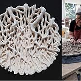 Wortelschaal | keramiek | d. 50cm.