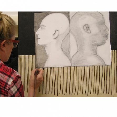 tekenend schilderen